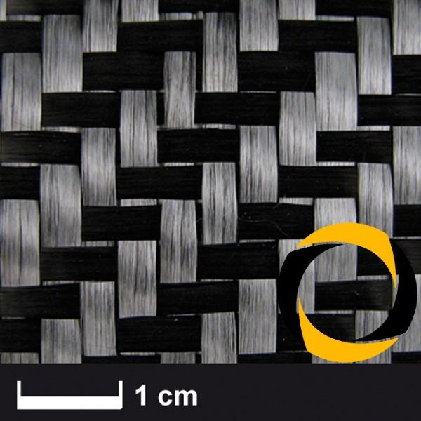 Kohlegewebe 400 g/m² (Köper, 12k) 100 cm